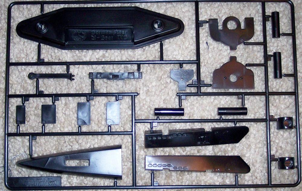 Academy 01442 1/150 German Navy U-Boat IXb Kit First Look