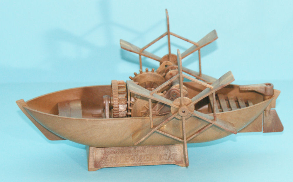 academy 18130 da vinci paddleboat kit first look
