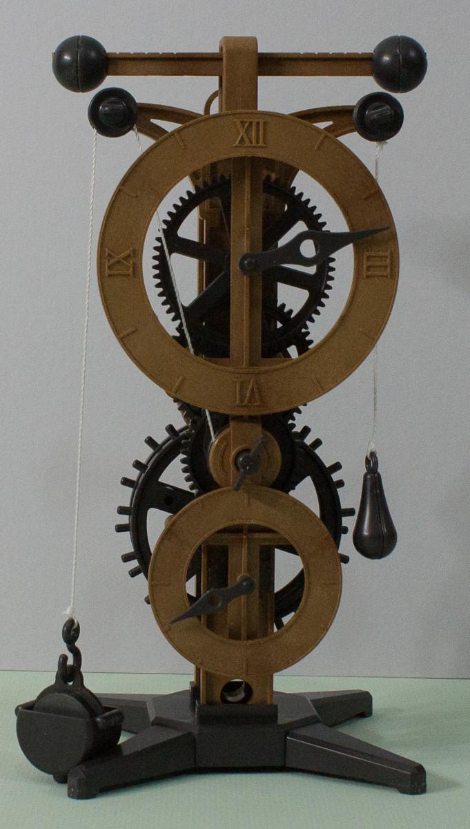 Academy 18150 Da Vinci Clock Kit First Look