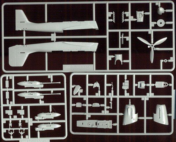 1641 Academy JU87G-1 Stuka Tank Buster Model Kit Model Rectifier Corp