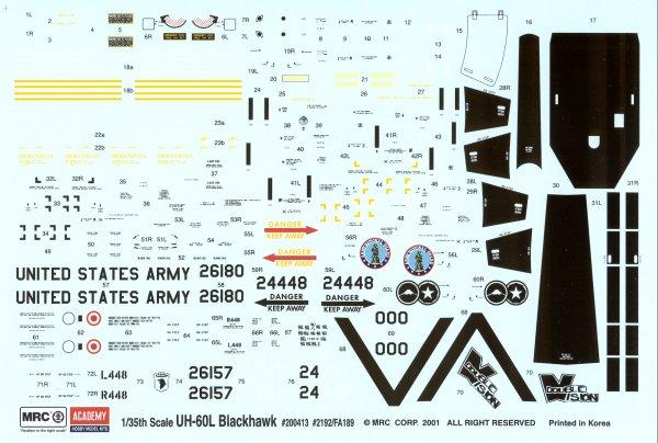 Mrc Academy 02192 1 35 Sikorsky Uh 60l Blackhawk Kit First