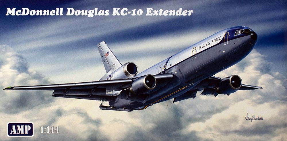 AMP 144-004 1//144 Mcdonnell Douglas KC-10 Extender