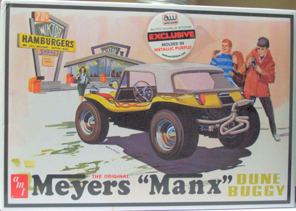 AMT 0651 1/25 Meyers Manx Dune Buggy Kit First Look