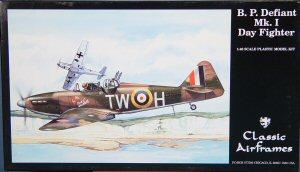 Classic Airframes decals 1//48 Kit# 481 Boulton Paul defiant Mk 2 Night Fight L95