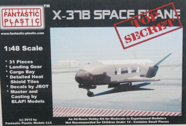 Fantastic Plastic 1/48 X-37B Space Plane Kit First Look