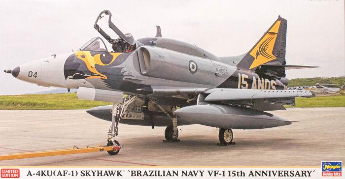 Hasegawa 07423 1/48 A-4KU (AF-1) Skyhawk 'Brazilian Navy VF