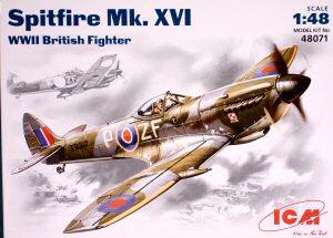 icm 48071 1 48 spitfire mk xvi kit first look rh cybermodeler com vi1 vi 1927