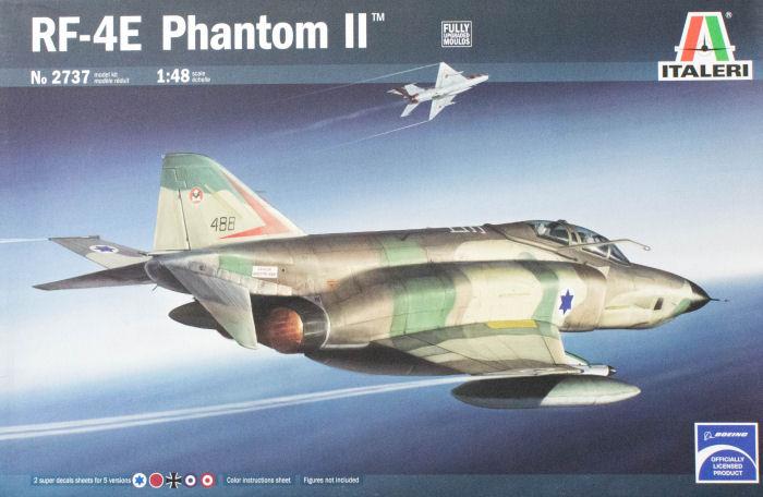 Italeri 2737 1 48 Rf 4e Phantom Ii Kit First Look