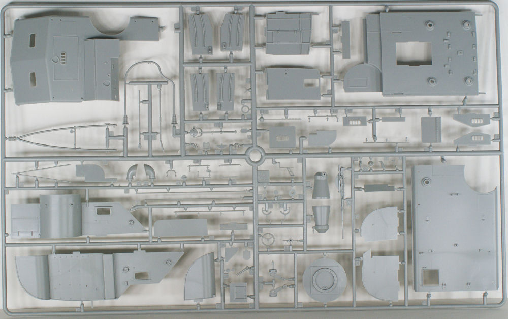 Italeri 5613 1/35 Motor Torpedo Boat PT-109 Parts Image 04
