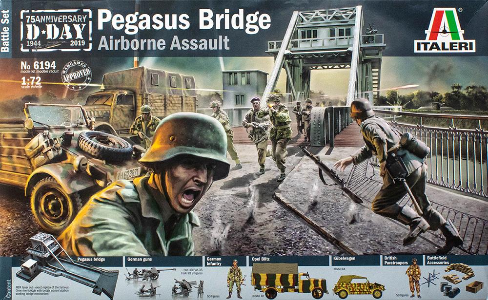 Italeri Battle-Set Pegasus Bridge in 1:72 Italeri 6194