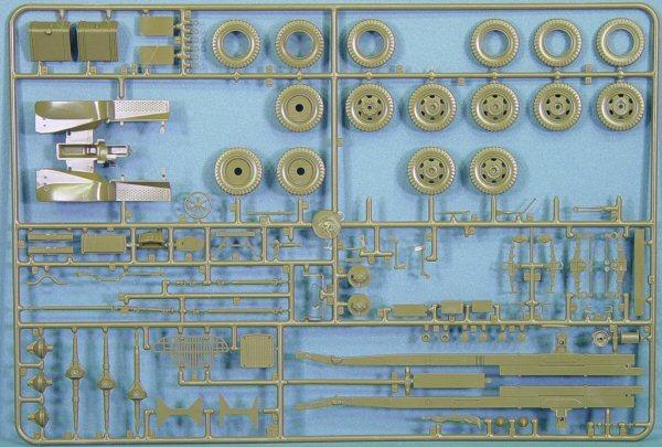 Italeri 6271 1/35 2 5 Ton 6x6 Truck Kit First Look