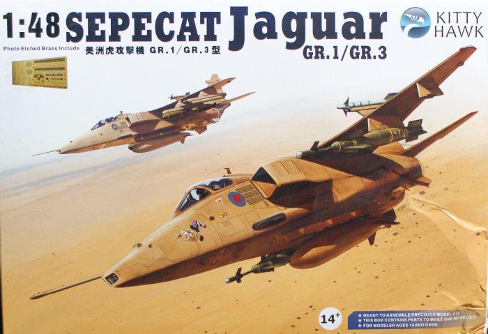 Kitty Hawk Models 80106 1/48 SEPECAT Jaguar GR 1/GR 3 Kit