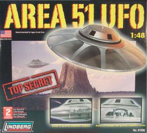 Lindberg 91006 1 48 Area 51 Ufo Kit First Look