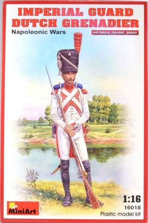 Napoleonic Wars MiniArt 1//16 16018 Imperial Guard Dutch Grenadier