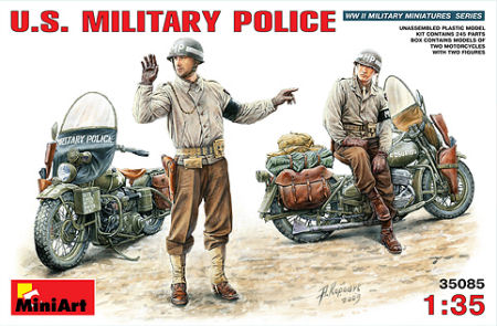 Miniart 35085 1 35 Us Military Police Kit First Look