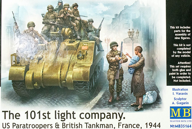 Moving Company Reviews >> Master Box 35164 1/35 The 101st Light Company Kit First Look