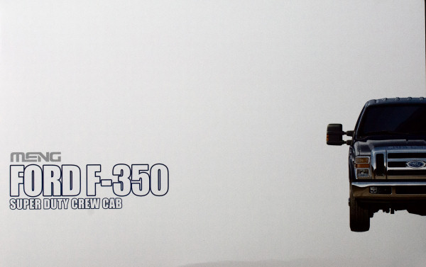 Meng 1/24 Ford F-350 Super Duty Crew Cab Kit First Look