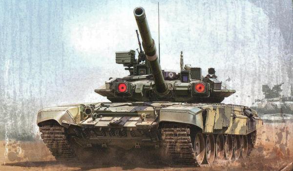 Meng Ts006 1 35 Russian Main Battle Tank T 90a Kit First Look