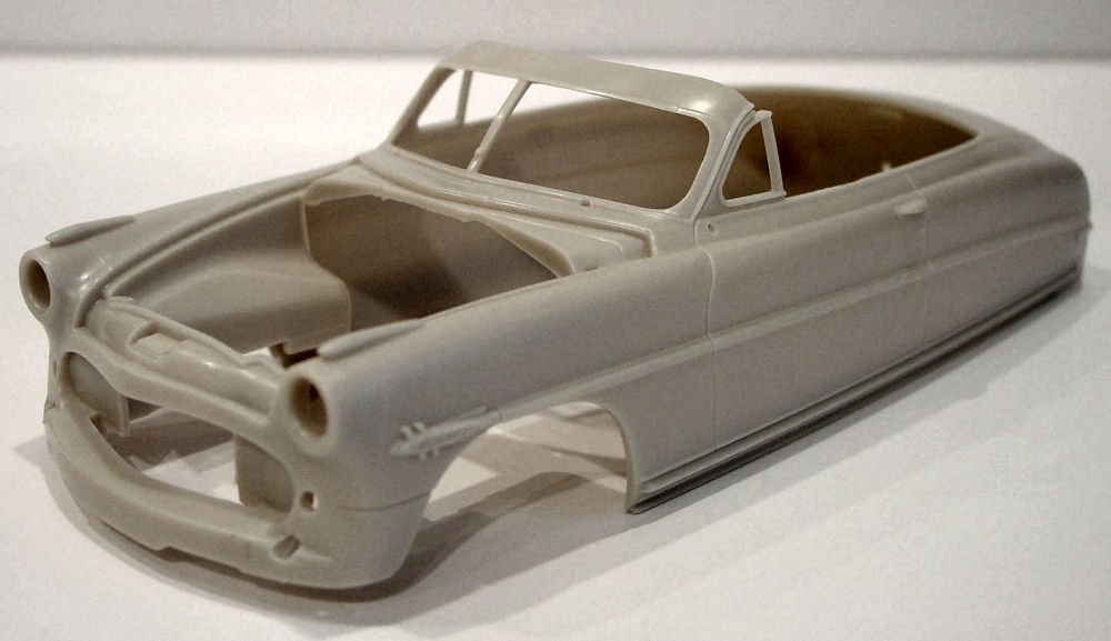 Moebius Models 1204 1 25 1952 Hudson Hornet Convertible First Look