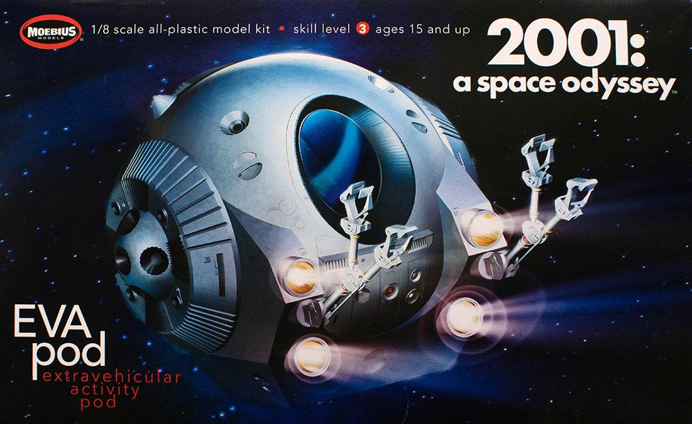Moebius 1//8 2001 A Space Odyssey EVA Pod Plastic Kit 2001-4