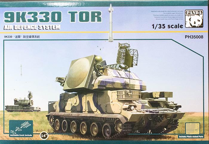 Panda Hobby 35008 1 35 9k330 Tor Air Defense System Kit