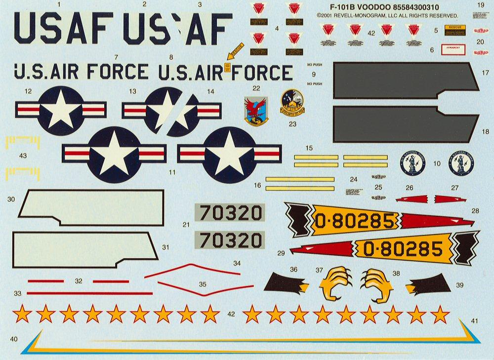 Monogram 85-5843 1/48 F-101B Voodoo Kit First Look