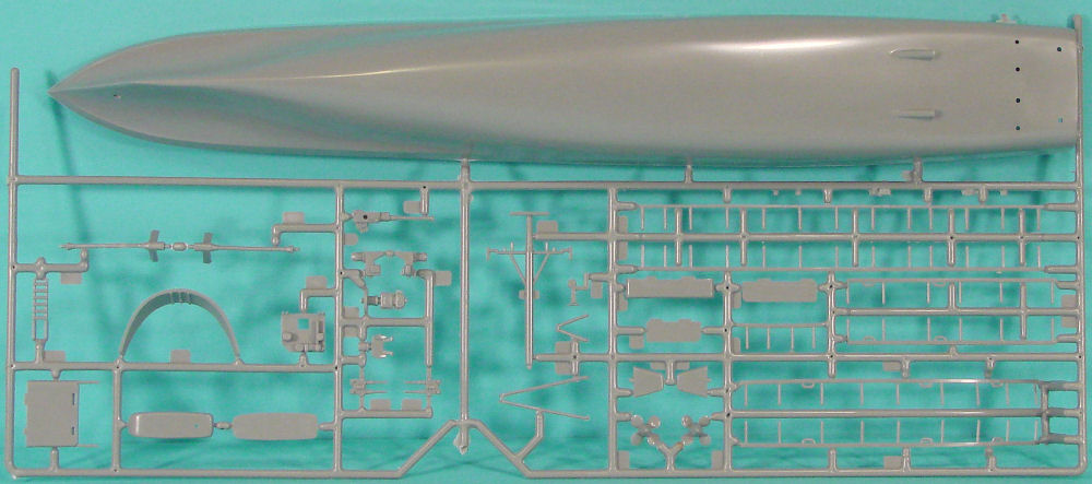 Look Up A Number >> Revell 05008 1/131 USS Defiance PG 95 Kit First Look