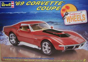 Revell 1 25 1969 Corvette Coupe Kit First Look