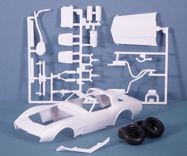 Revell 85-2168 1/24 '78 Corvette Indianapolis 500 Pace Car ...