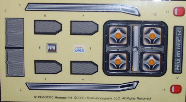 Revell 85 1938 1 25 Hummer H1 Kit First Look
