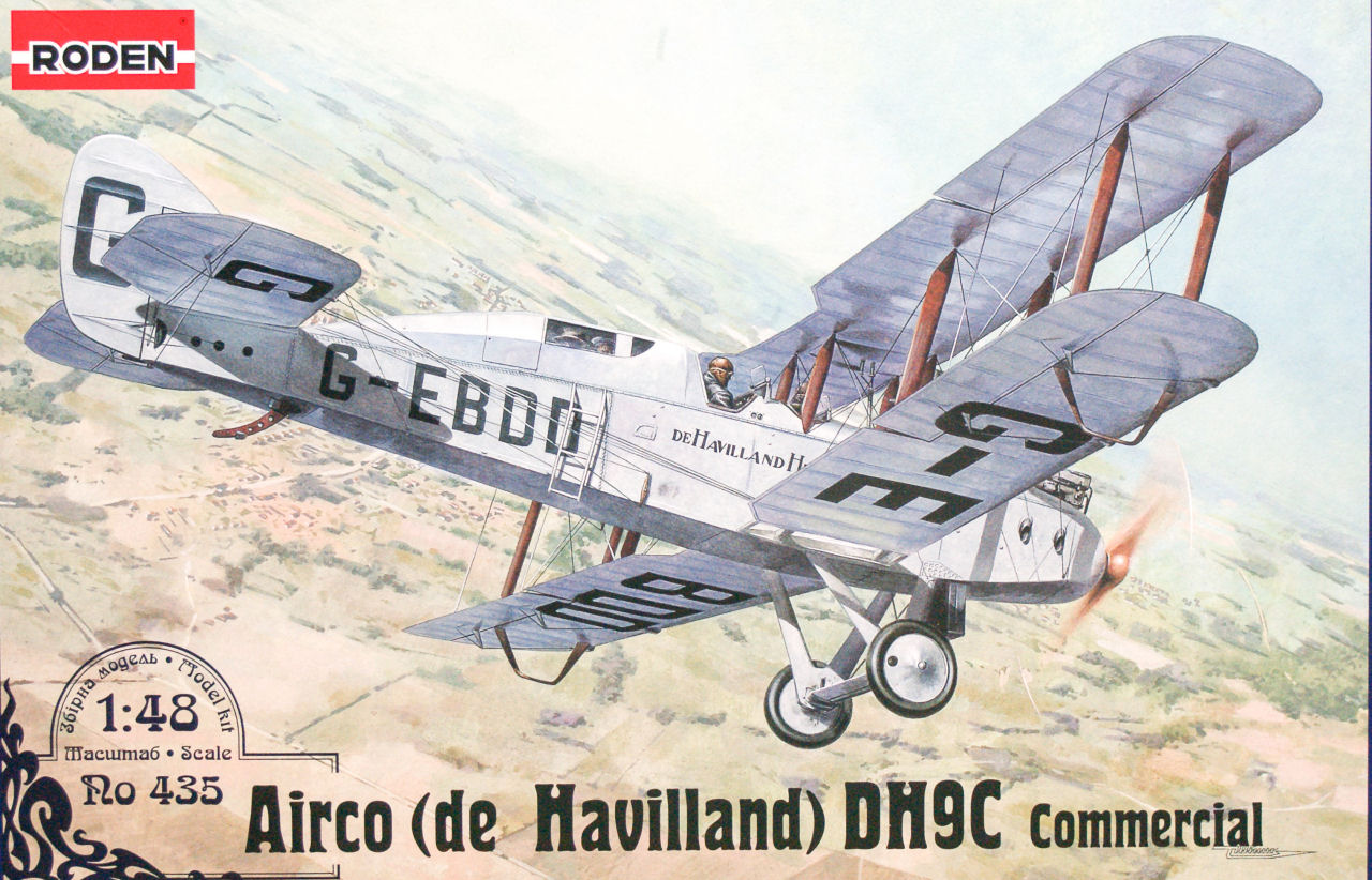 Roden 0435 1 48 Airco Dh9c Commercial Kit First Look