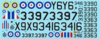 Canadian MKGS #92208 1//72 RS MODELS NA-64 Yale WW II Advanced military trainer