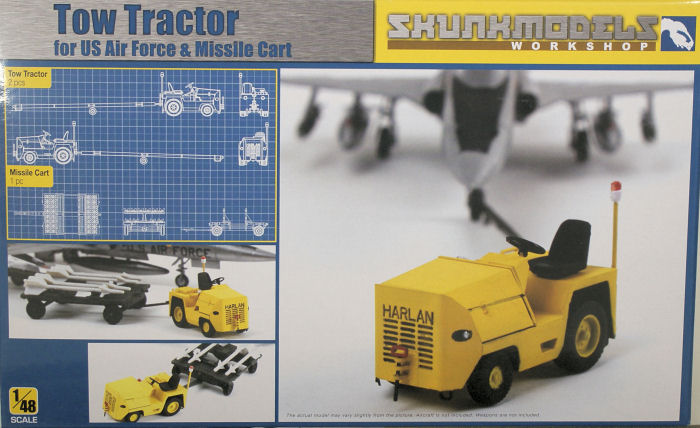 Harlan Tractor Parts : Skunkmodels harlan tow tractor kit first look