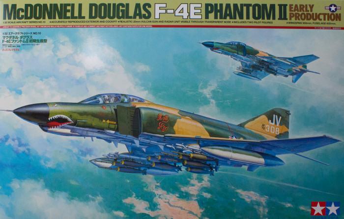 early production Tamiya 1//32 F-4E Phantom II # 60310