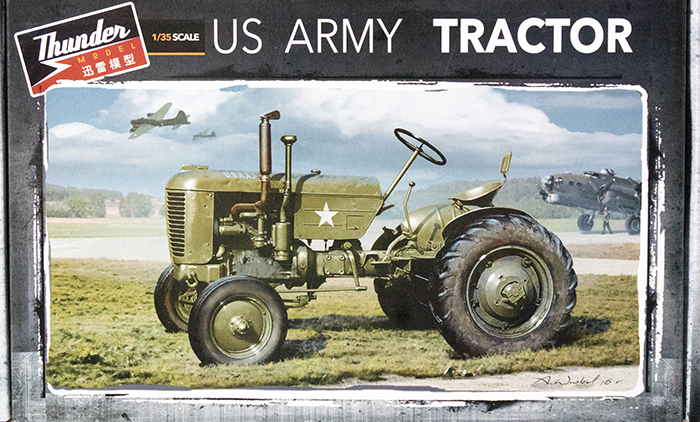 Thunder Model 35001 1 35 Case Vai Tractor Us Army Wwii Kit