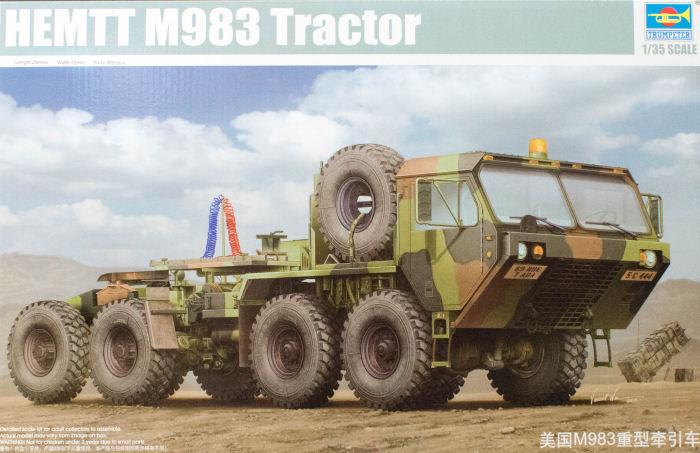 Trumpeter 01021 1 35 Hemtt M983 Tractor Kit First Look