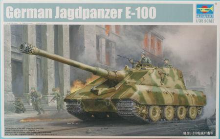 Trumpeter 01596 1/35 Jagdpanzer E-100 Kit First Look