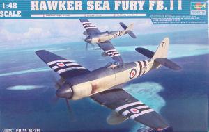 Trumpeter 02844 1//48 Hawker Sea Fury FB.11 Plastic Model