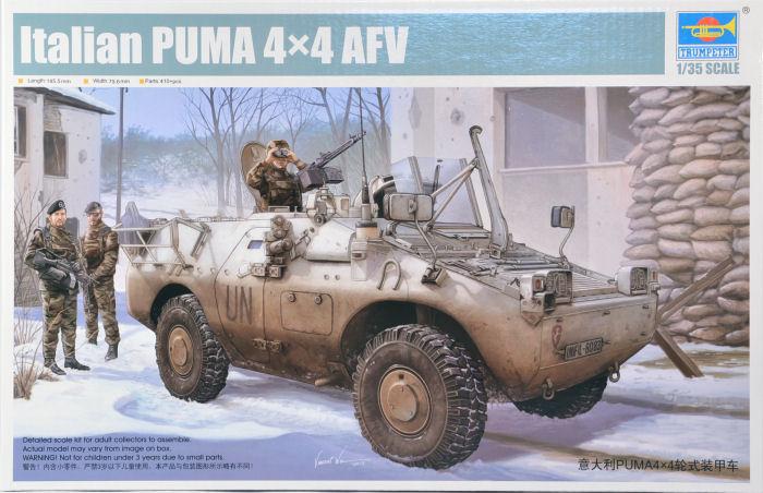 Italian Puma 4x4 AFV
