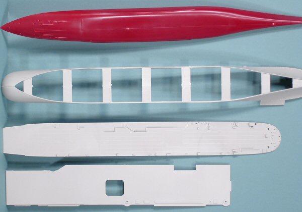 trumpeter 05729 1  700 uss yorktown cv 10 aircraft carrier