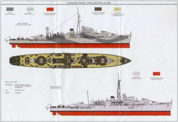 white ensign models   hms starling kit