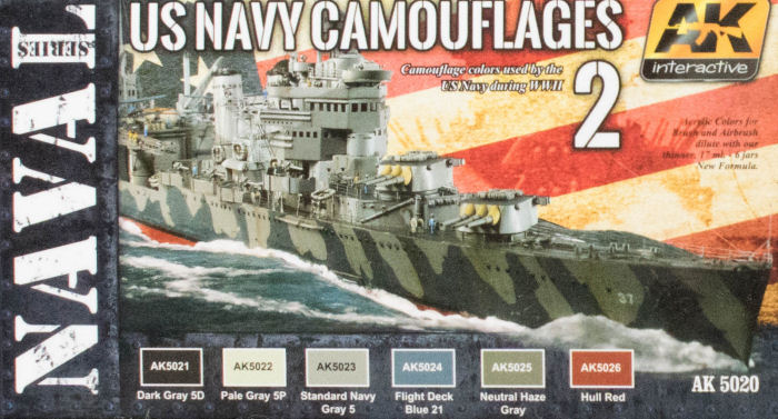 Ak Interactive Ak 5020 Us Navy Camouflages 2 Set Paint Review