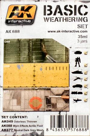 osw.zone AK Interactive AK 688 Basic Weathering Set Paint Review 2015-12-29 04:08:18