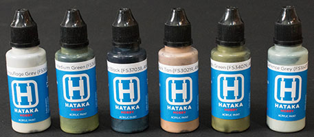 Hataka BS09 USAF Paint Set (Vietnam War Era)
