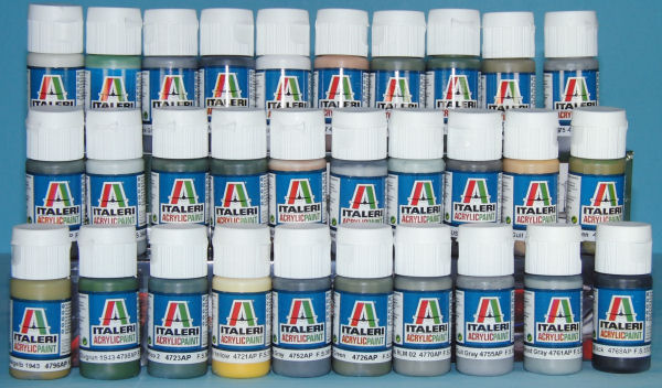 Italeri Acrylic Paint Line First Look