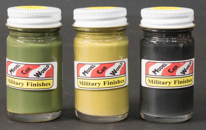 Model Car World Military Finishes Paint Review