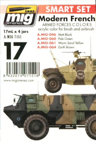 Ammo by Mig Jimenez Modern French Armed Forces Colors Paint First Look
