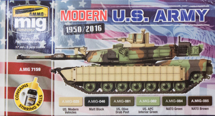 Ammo by Mig Jimenez Modern US Army Colors Paint First Look
