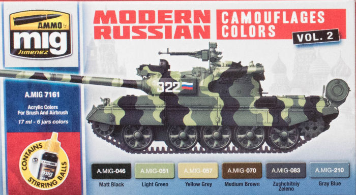 Ammo by Mig Jimenez Modern Russian Camouflages Colors Vol 2 Paint
