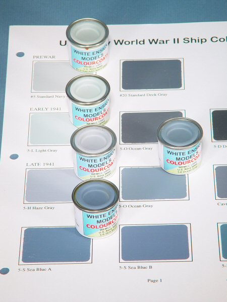 White Ensign Models Usn Colourcoats Paint First Look